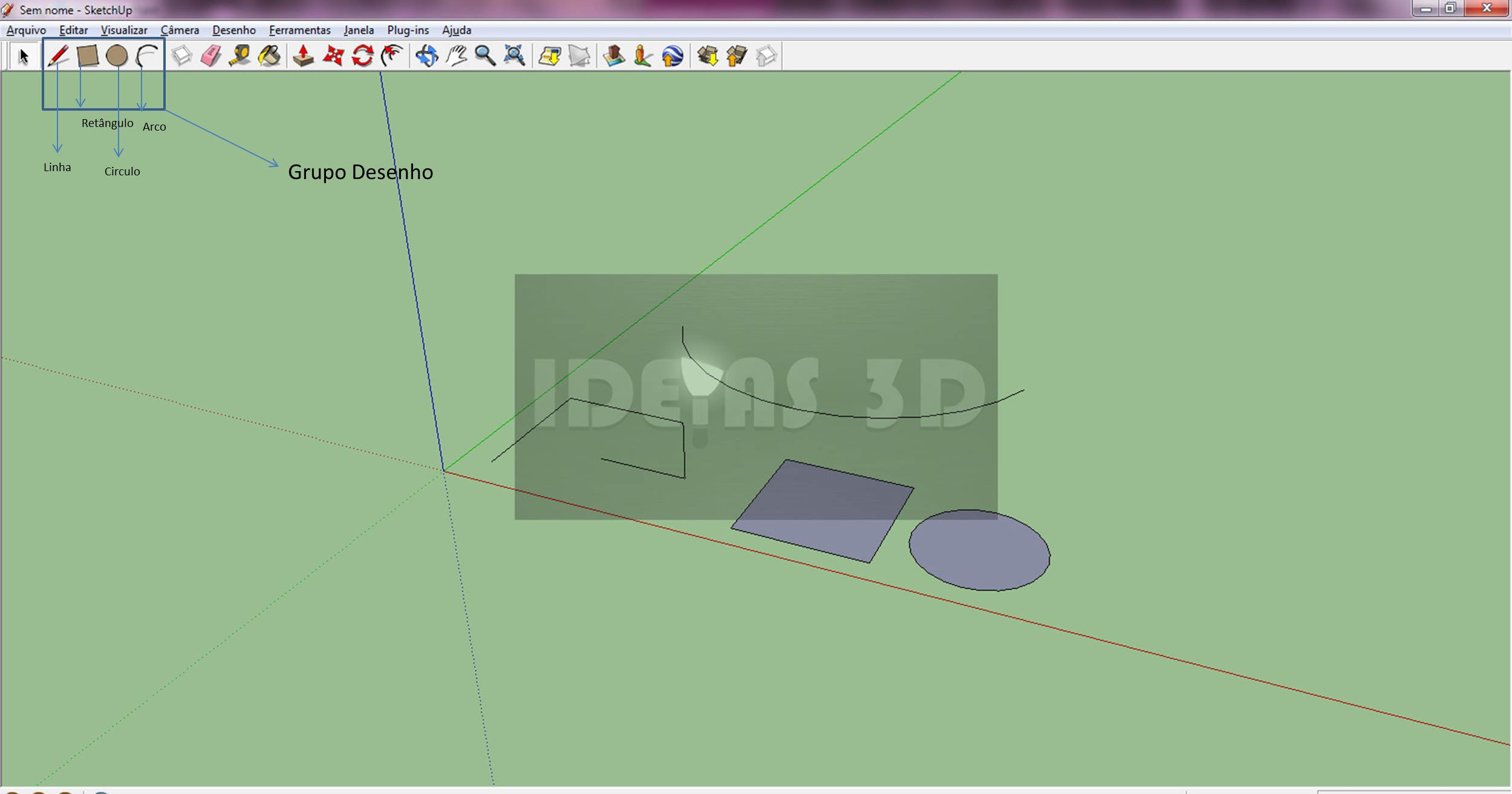 239 Sketchup   Interface Básica