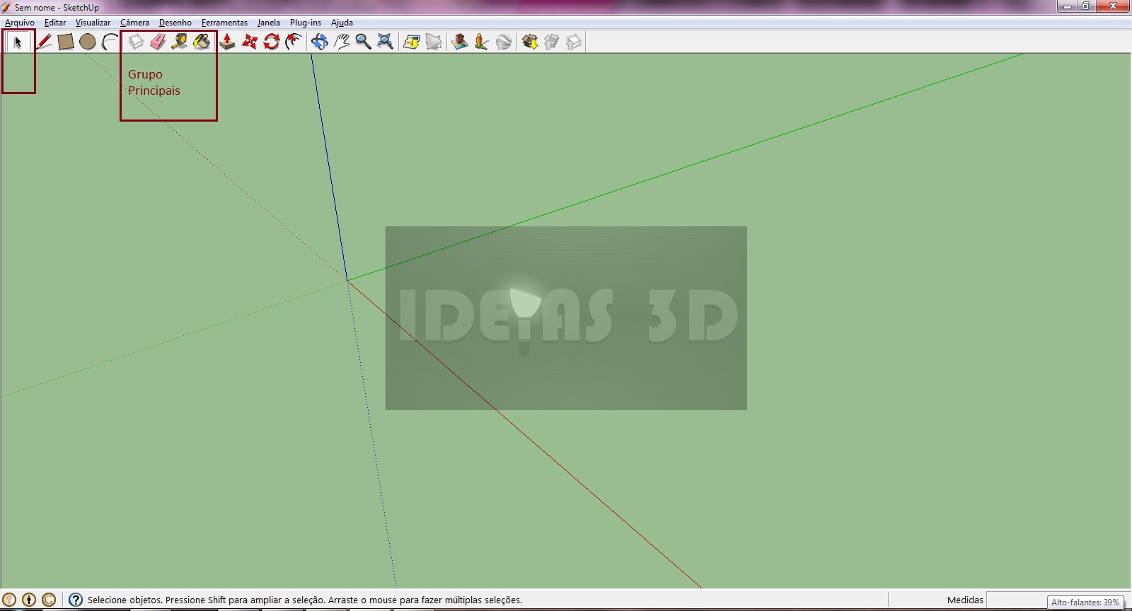326 Sketchup   Interface Básica