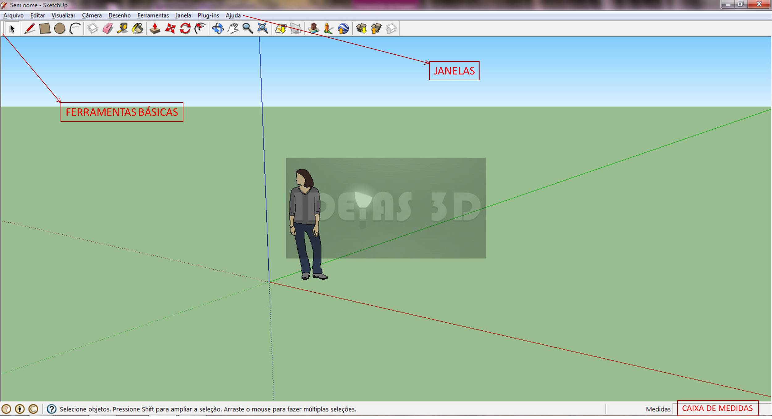 420 Sketchup   Interface Básica